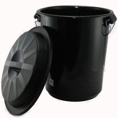 alquiler cubo basura negro