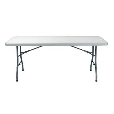alquiler mesa rectangular polietileno