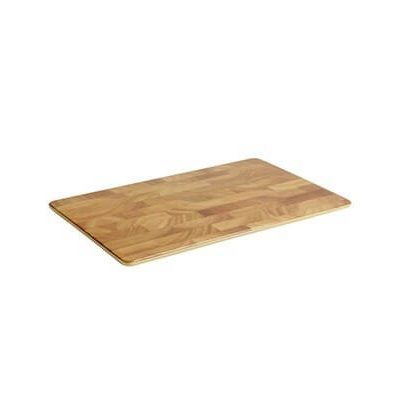 alquiler bandeja rectangular madera