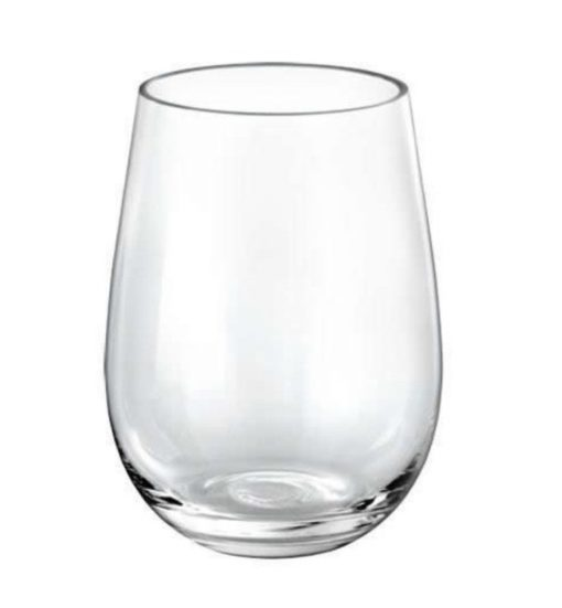 alquiler vasos transparentes