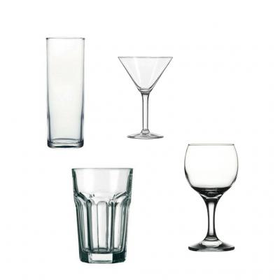 Alquiler copas y vasos de licor