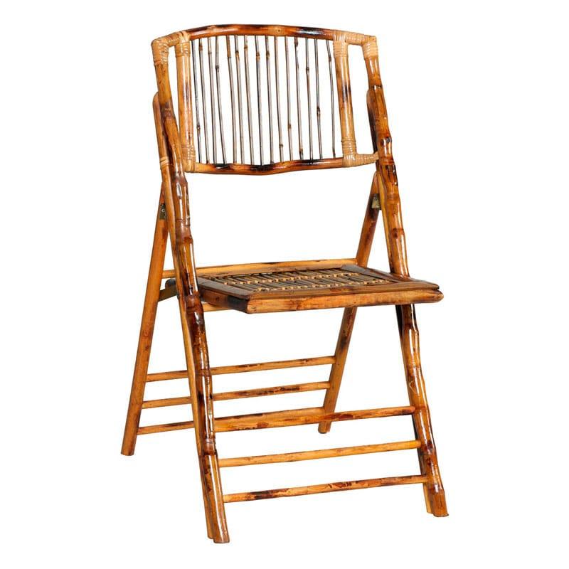 Alquiler silla plegable bambu