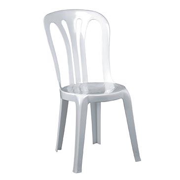 Alquiler silla blanca plástico