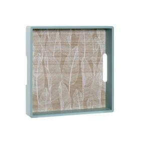 alquiler bandeja cuadrada madera mint