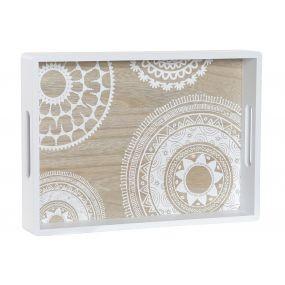 alquiler bandeja madera mandalas