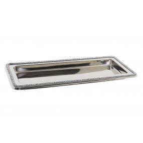 alquiler bandeja rectangular plata