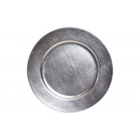 alquiler plato presentacion plata