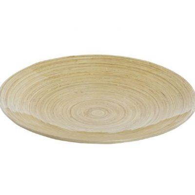alquiler bandeja redonda bambu