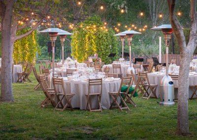 Alquilar sillas boda en plena naturaleza