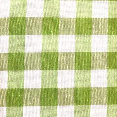 alquiler mantel vichy verde