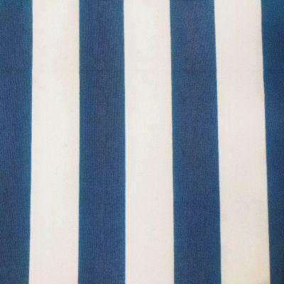 alquiler mantel rayado azul