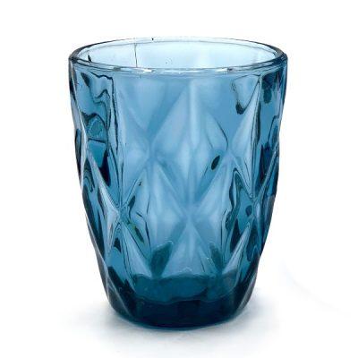 alquiler vaso azul labrado