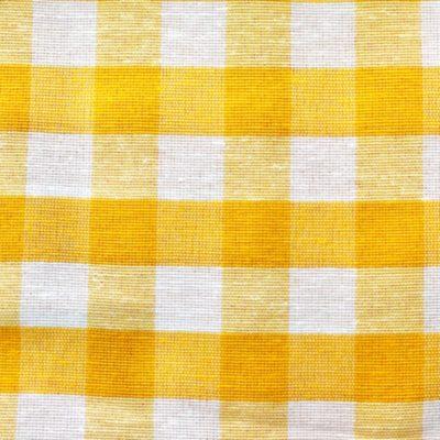 alquiler mantel vichy amarillo